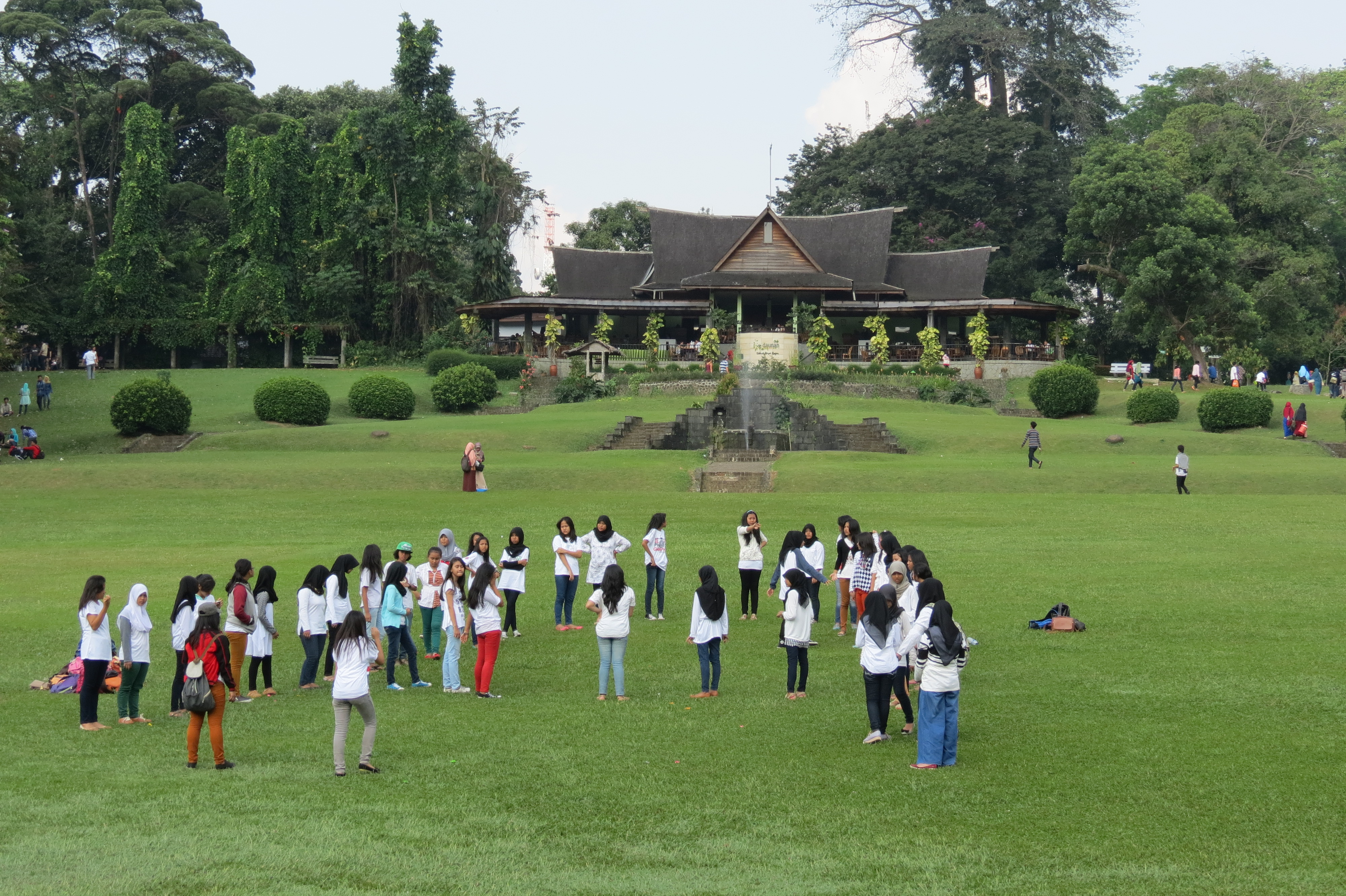 Kebun Raya (jardins botànics), Bogor. Viatge a Indonèsia