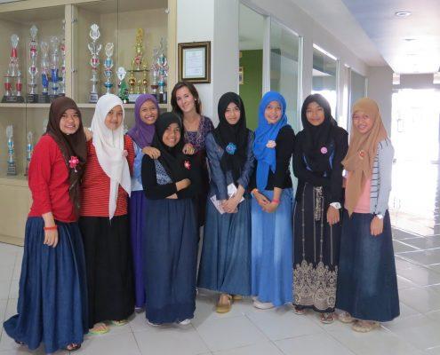 mestra Berta Torras Indonèsia Kalimantan