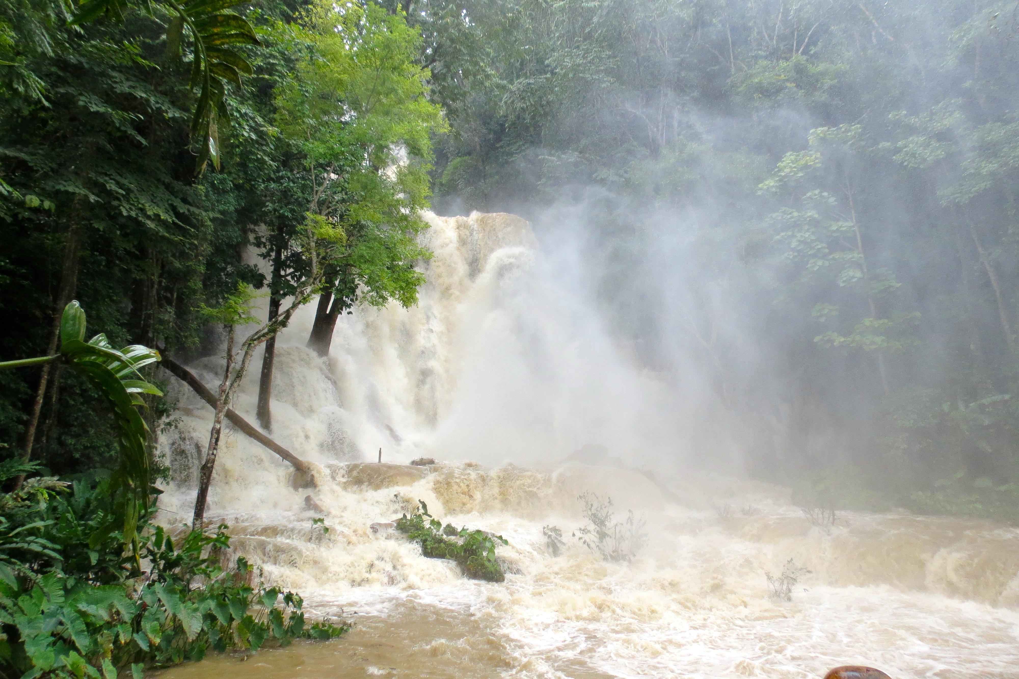 Kuang Si Falls cascades Luang Prabang