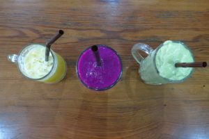 sucs fruita Laos green juices