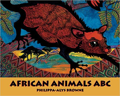 African Animals book English