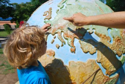 mapas mundo niños