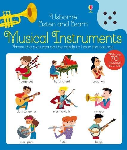 instrumentos musicales inglés