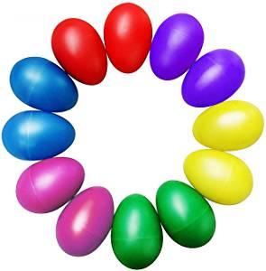 egg shakers música en inglés