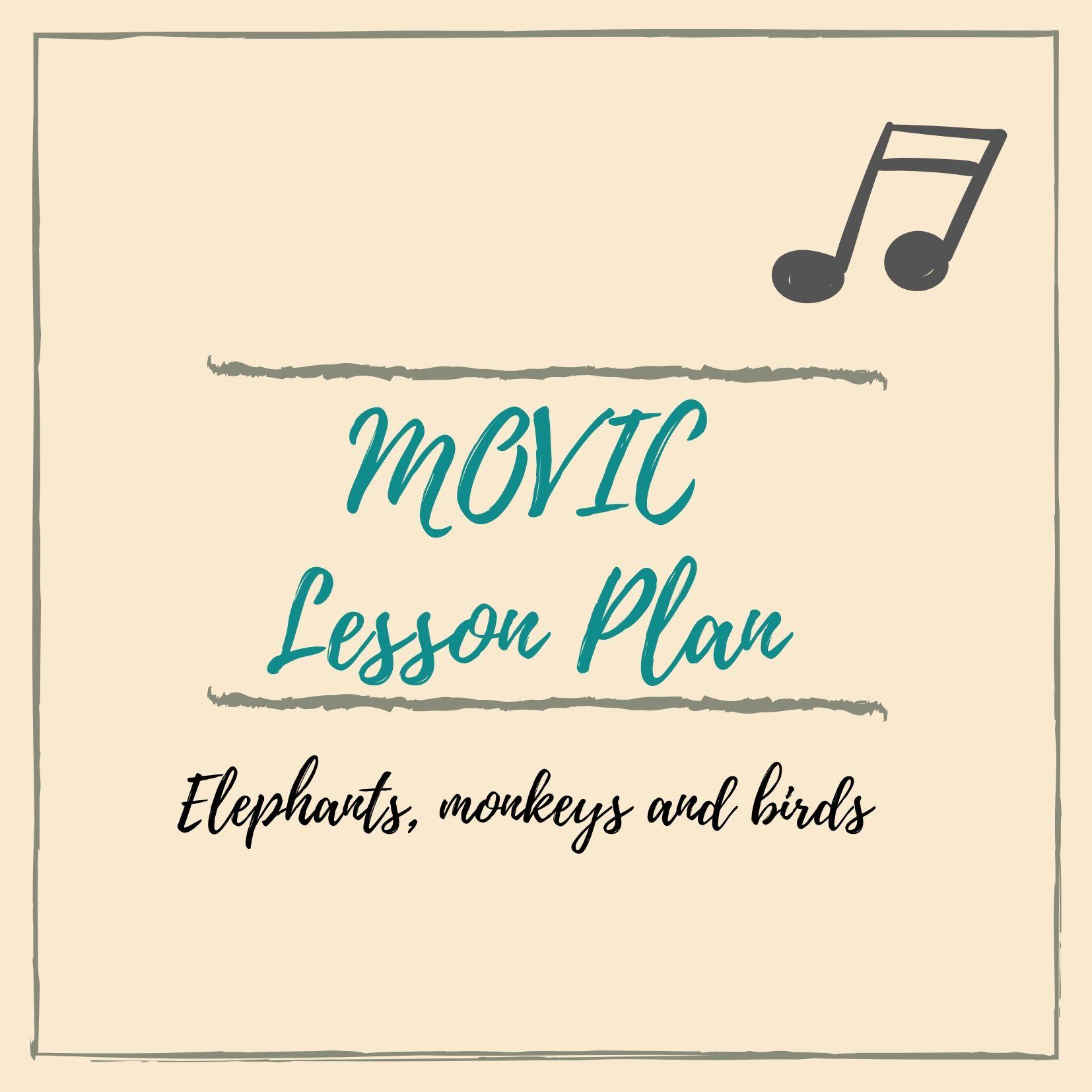 MOVIC lesson plan